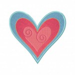 Heart-Custom-Applique-5_5 Inch