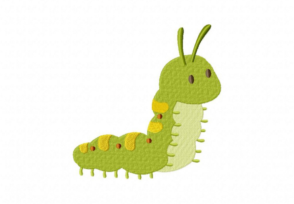 Caterpillar Machine Embroidery Design Daily Embroidery