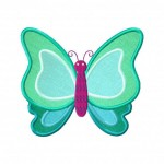 Symetric-Butterfly-Applique-5x7-Inch