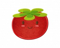 Happy-Tomato-Applique-5_5 Inch