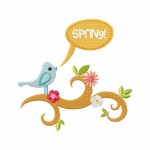 Spring-Bird-on-tree-branch-5_5-Inch