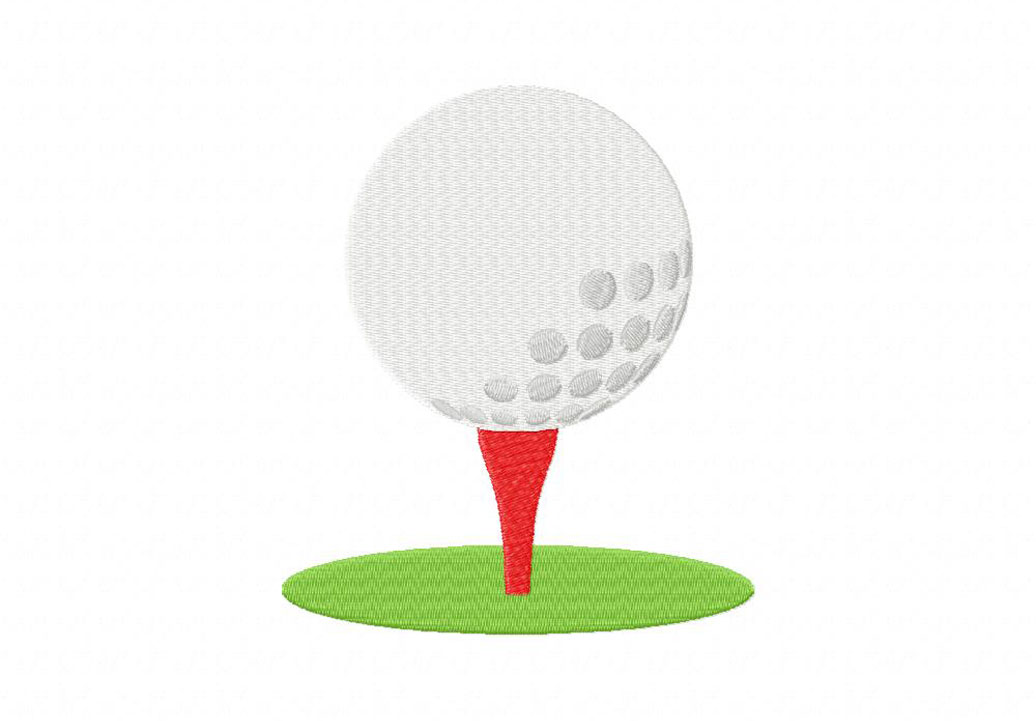 Golf Ball Machine Embroidery Design Daily Embroidery
