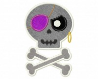 Eyepatch-Skull-Applique-5x7-Inch