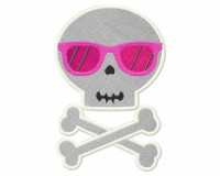 Skull-Shades-Applique-5x7-Inch