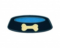 Dogbowl-Applique-5x7-Inch