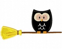 Owl-on-Broom-Applique-5x7