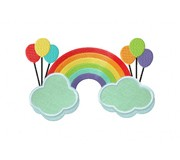 SmallRainbowBalloonsApplique