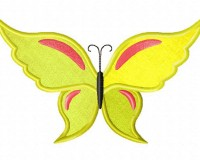 Bright-Yellow-Butterfly-Applique-5x7