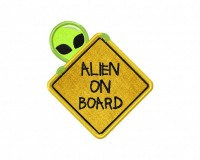 Alien-On-Board-Signage-Applique-5x7