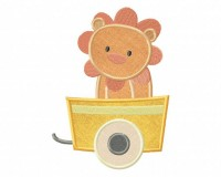 Choo-Choo-Train-Lion-Applique-5x7
