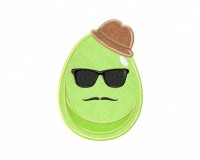 Hipster-Egg-5-Applique-5_5-in