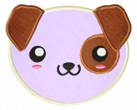 Kawaii-Puppy-Face-Applique-5x7