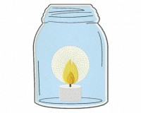 Mason-Jar-With-Candle-Applique-5x7