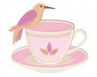 Hummingbird-in-Peach-Teacup-Applique-5x7