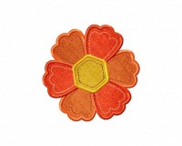 Stitched-Pattern-Flower-Applique-5x7