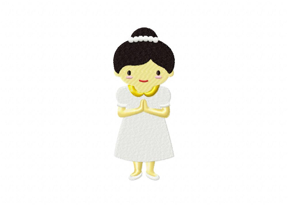 Girl in First Communion 5_5 in