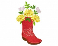Boot-Bouquet-Applique-5x7
