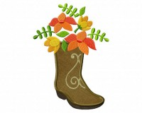 Boot-Flowers-Applique-5x7