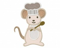 Mouse-Chef-Applique-5x7