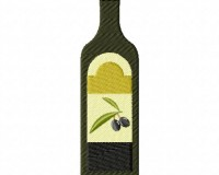 Healthy Olive Oil Bottle 5_5 in
