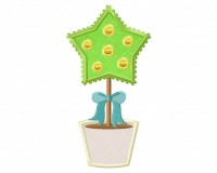 Star-Pot-Plant-Applique-5x7