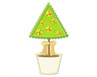 Triangle-Pot-Plant-Applique-5x7