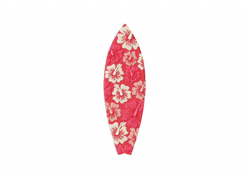 PinkFloralSurfboardPink FLoral Surfboard 5_5 in