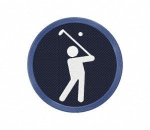 Golf Icon Stitched 5_5