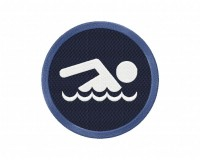 Swimming Icon Stitched 5_5