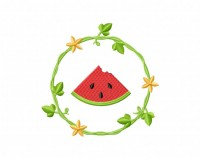 WatermelonWreathWatermelon Wreath 5_5 in