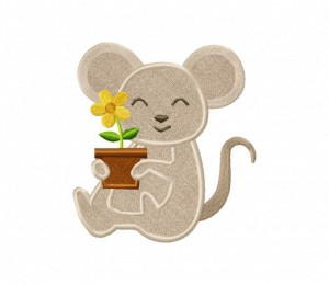 Mouse-Flower-Pot-Applique-5x7