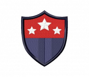 Star Prep School Badge 5_5 inch