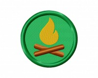 Camp Badge (Stitch) 5_5 in