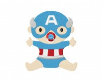 Captain America Baby 5_5 inch