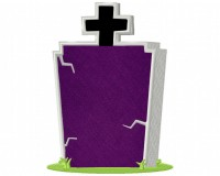 Creepy-Tombstone-Cross-Applique-6x10
