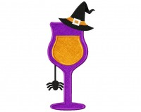 Halloween-Cocktail-Witch-Hat-(Z)-Applique-6x10
