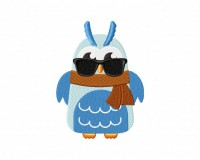 Hippie Owl With Scarf 5_5 inch