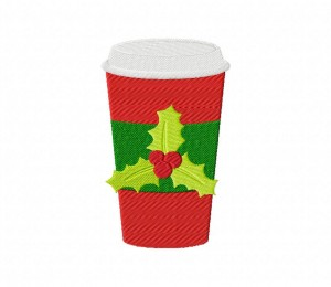 Christmas Drink Plastic Cup 5_5 inch