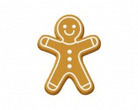 Gingerbread Cookie Boy 5_5 inch