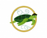 Sea Life Cameo Turtle (Z)-5_5