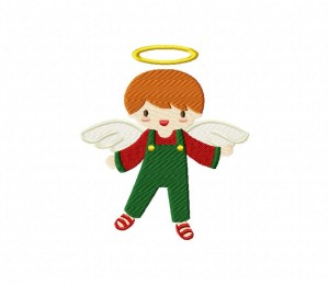 Christmas Boy Angel 5_5 inch