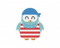 Cool Pirate Owl 5 inch