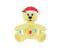 Holiday Teddy Bear Lights Stitched 5_5