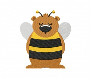 Honey Bear Sneaky Stitched 5_5