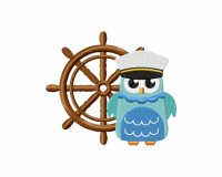 Nautical Owl 5_5 inch