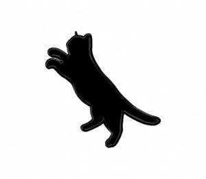 Playful-Cat-Silhouette-Applique-5x7