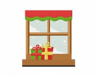 Winter Window Christmas Gift 5_5 inch
