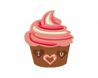 I Love You Cupcake 5_5 in