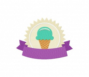 IceCreamShopIce Cream Shop Stitched 5_5 in
