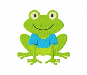 T-shirt Frog 5_5 inch